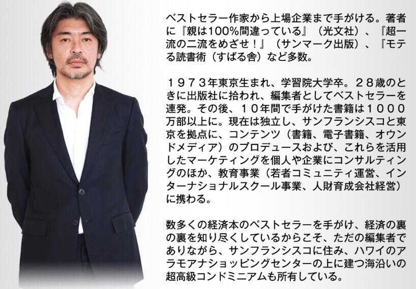 """長倉顕太氏のプロフィール画像"""""""""""